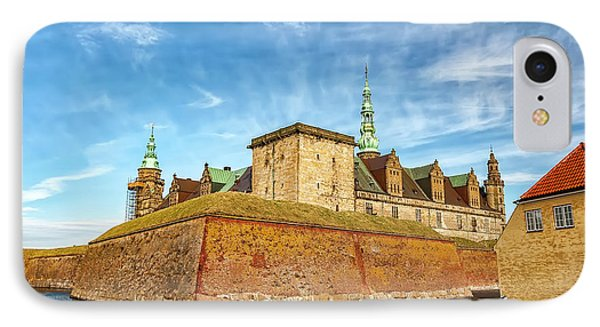 IPhone Case featuring the photograph Kronborgsslott In Helsingor by Antony McAulay