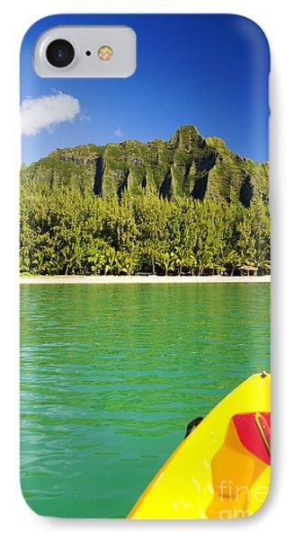 Kualoa Mountains From Kay Phone Case by Dana Edmunds - Printscapes