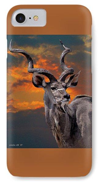 Kudu At Sunset IPhone Case