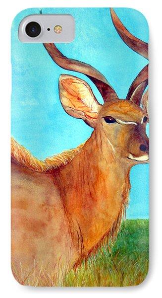 Kudu IPhone Case by Patricia Beebe