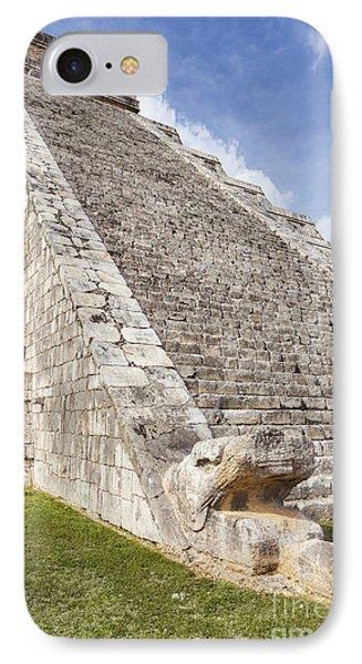 Kukulkan Pyramid At Chichen Itza IPhone Case