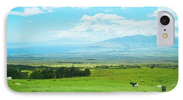 Kula Upcountry Maui Hawaii IPhone Case by Sharon Mau