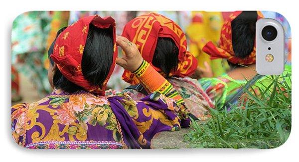 Kuna Women Head Scarfs IPhone Case by Douglas Pike