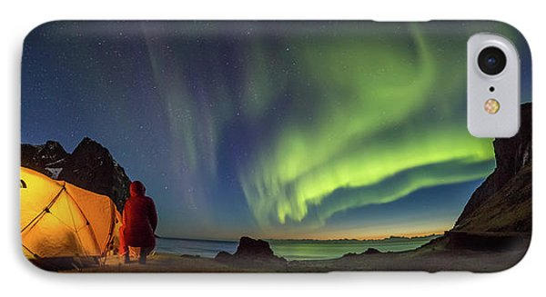 Kvalvika Under The Lights IPhone Case