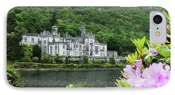 Kylemore Abbey Co Galway IPhone Case by Martina Fagan