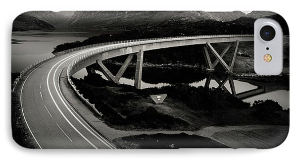 Kylesku Bridge IPhone Case by Dave Bowman