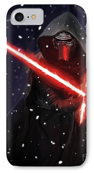 Kylo Ren IPhone Case by Paul Tagliamonte