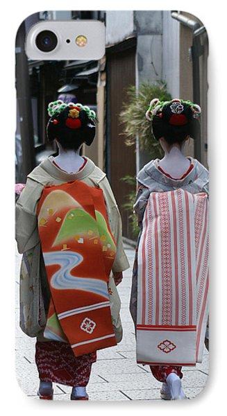Kyoto Geishas Phone Case by Jessica Rose
