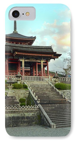 IPhone Case featuring the photograph Kyoto Temple by Corinne Rhode