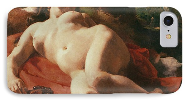 La Bacchante IPhone Case by Gustave Courbet
