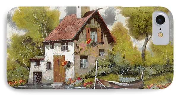 La Barca IPhone Case by Guido Borelli