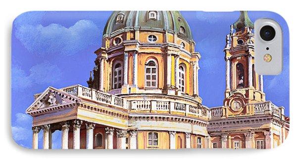 la basilica di Superga IPhone Case by Guido Borelli