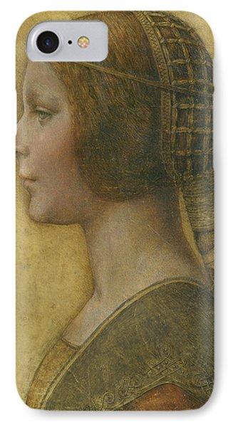 La Bella Principessa - 15th Century IPhone Case by Leonardo da Vinci