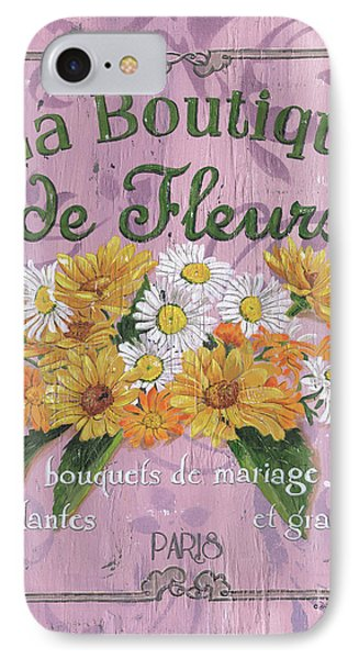 La Botanique 1 IPhone Case by Debbie DeWitt