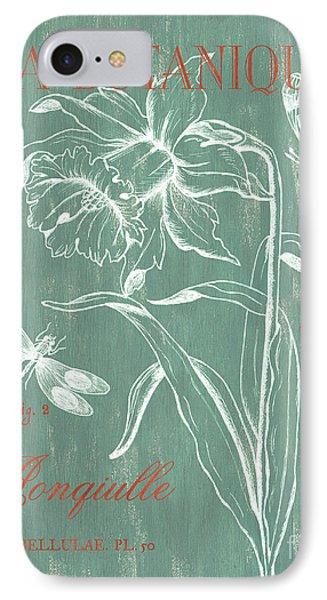 Dragon iPhone 7 Case - La Botanique Aqua by Debbie DeWitt