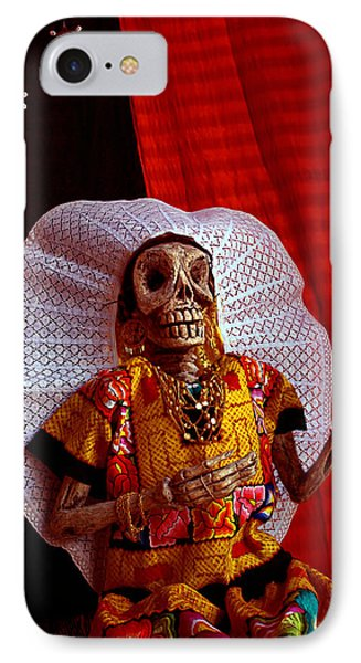La Calavera Catrina - Day Of The Dead IPhone Case