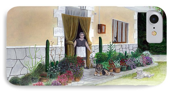La Casa De Nonna Loreta IPhone Case by Albert Puskaric
