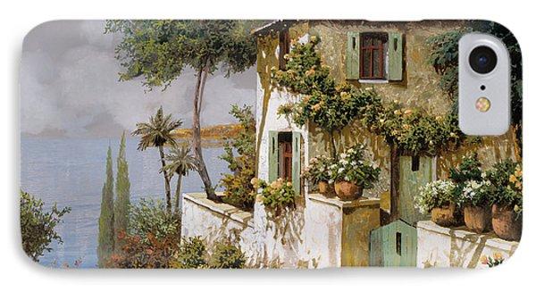 La Casa Giallo-verde Phone Case by Guido Borelli