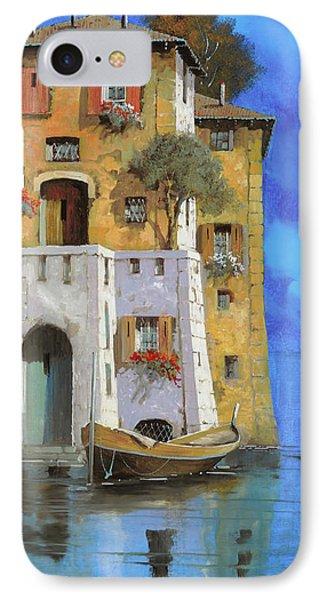 La Casa Sull'acqua IPhone Case by Guido Borelli