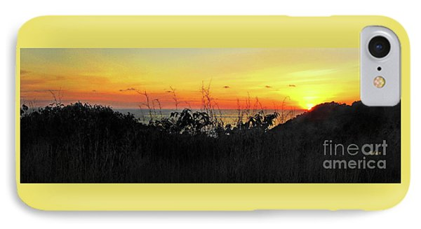 la Casita Playa Hermosa Puntarenas Costa Rica - Sunset A Panorama Phone Case by Felipe Adan Lerma