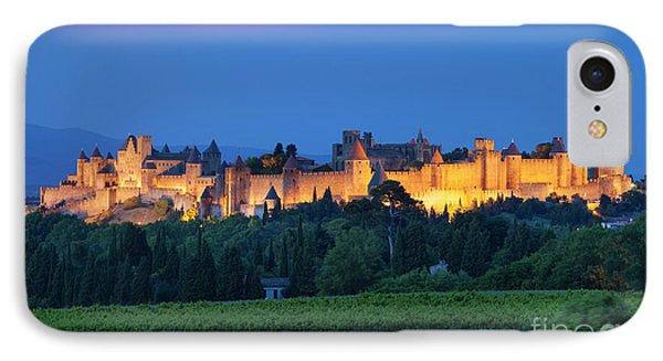 La Cite Carcassonne Phone Case by Brian Jannsen