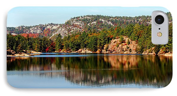 IPhone Case featuring the photograph La Cloche Mountain Range by Debbie Oppermann