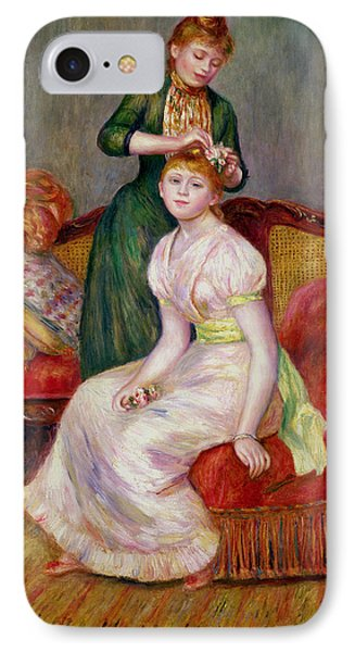 La Coiffure Phone Case by Renoir