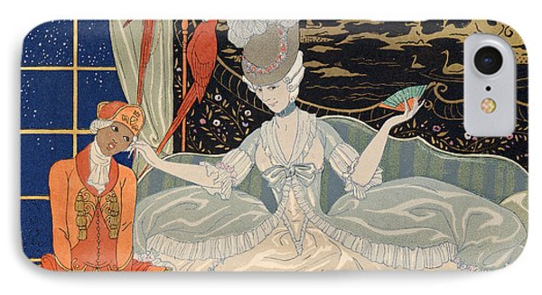 La Comtesse From Personages De Comedie IPhone Case by Georges Barbier