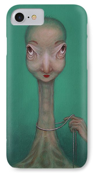 La Coquette  IPhone Case by Yvonne Wright