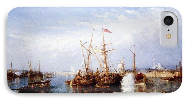 La Corne D'or, Constantinople IPhone Case by Felix Ziem