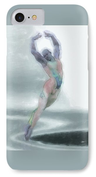 La Danza Fantasma IPhone Case by Quim Abella