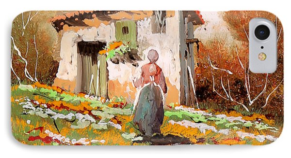 La Donzelletta IPhone Case by Guido Borelli