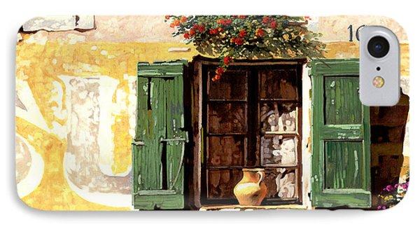 la finestra di Sue IPhone Case by Guido Borelli