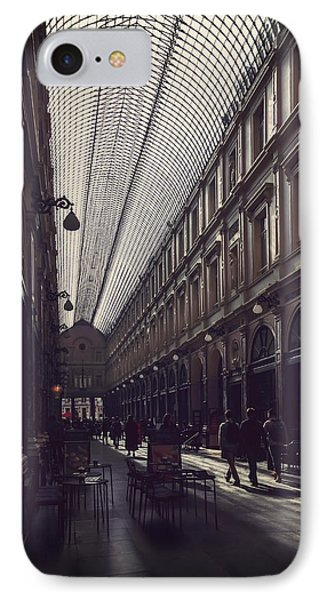 Les Galeries Brussels IPhone Case