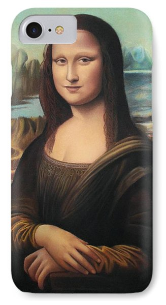 La Gioconda - Pastel  IPhone Case