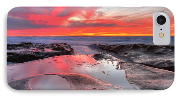IPhone Case featuring the photograph La Jolla Tidepools At Sunset by Nathan Rupert