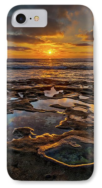 La Jolla Tidepools IPhone Case by Peter Tellone
