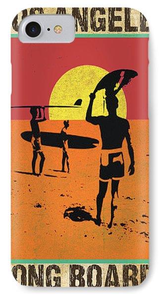 IPhone Case featuring the digital art La Long Boards by Greg Sharpe