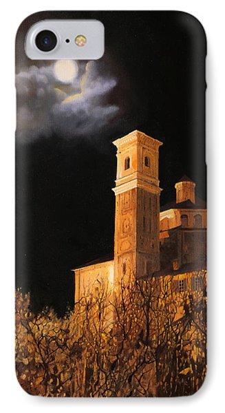 la luna a Cherasco IPhone Case by Guido Borelli