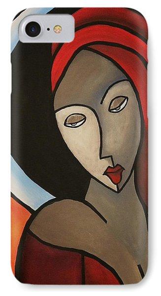 La Madonna IPhone Case by Edwin Alverio