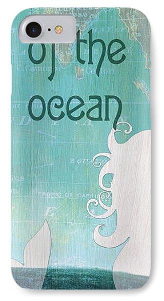 Seahorse iPhone 7 Case - La Mer Mermaid 1 by Debbie DeWitt