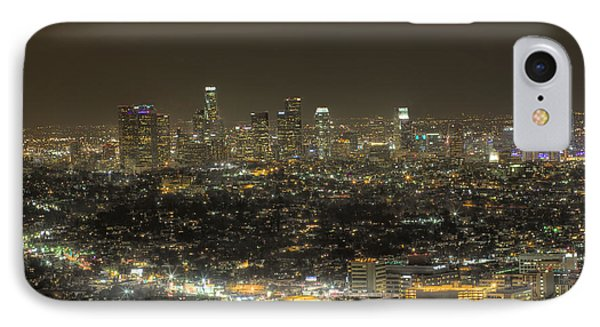 IPhone Case featuring the photograph La Nights by Kim Wilson