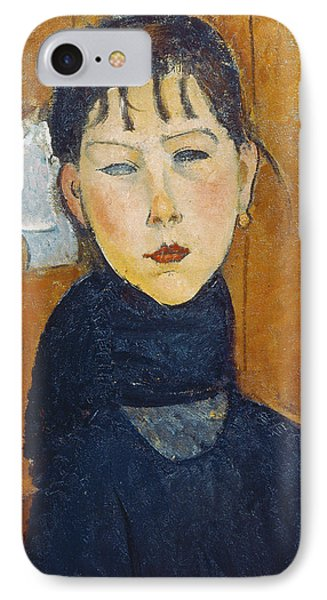 La Petite Marie IPhone Case by Amedeo Modigliani