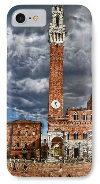La Piazza IPhone Case by Hanny Heim