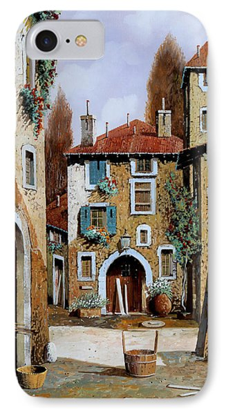 La Piazzetta IPhone Case by Guido Borelli