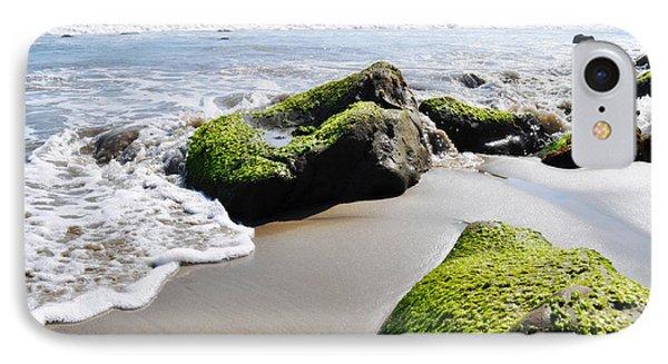La Piedra Shore Malibu IPhone Case by Kyle Hanson