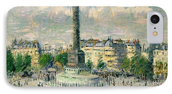 La Place De La Bastille IPhone Case by Celestial Images