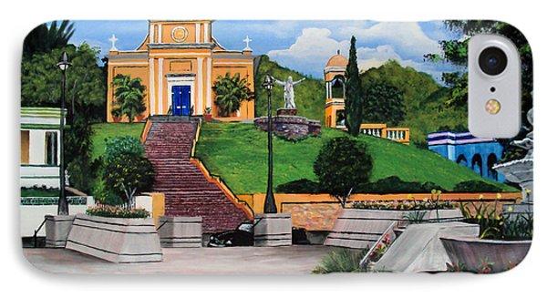 La Plaza De Moca Phone Case by Luis F Rodriguez