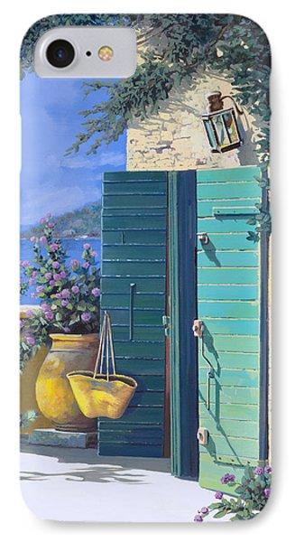 La Porta Verde IPhone Case by Guido Borelli