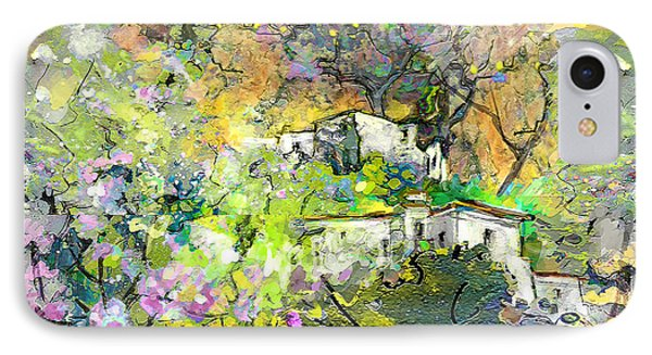 La Provence 07 Phone Case by Miki De Goodaboom